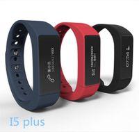 Wholesale I5 Gps - I5 Plus Smart Bracelet Bluetooth 4.0 Waterproof Touch Screen Fitness Tracker Health Wristband Sleep Monitor Smart Watch