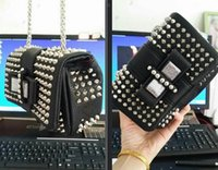 Wholesale Sexy Free Women Men - Wholesale-2016 Hot Sale Luxury Sweety Chairty Women Designer Clutch Spike Cover Knot Front Ladies Sexy Party Handbags Free Shipping
