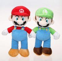 Wholesale Doll More - more than 10 inches new super Mario bros. plush Mario and luigi Mario and luigi plush toy doll