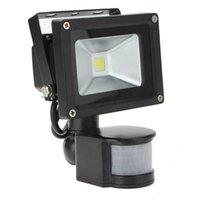 Wholesale Band Sensor - Wholesale- 10W White 800LM PIR Motion Sensor Security LED Flood Light 85-265V