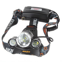 Wholesale Led Headlights For Hunting - NEW 5000 lumen 3x CREE XM-L 3T6 LED bike light Headlight flashlight head for hunting camping XML T6 LED Headlamp