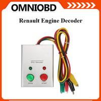 Wholesale Ecu Decoder - Top selling Universal decoding tool Renault fuel injection ECU engine immobilizer system Renault ECU Decoder free shipping