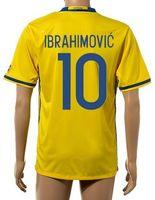 Wholesale Sports Jerseys Wholesale Discount - Thai Quality Customized 2015-16 New season men Swedish 10 IBRAHIMOVIC Soccer Jerseys Shirts,Discount Cheap 9 LJUNGBERG top Sports Wear tops