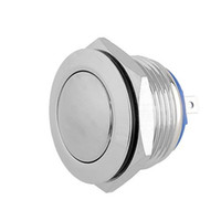 Wholesale Round Push Button Switches - 19mm 3A 1NO Round Push Button Metal Switch Waterproof For DIY Auto Boat Car Free shipping, dandys