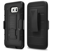 Wholesale Case Hard Grand - Shock proof Armour case Hard Belt Clips Holster Kickstand Stand cover For Samsung Galaxy S7 S6 EDGE Core Prime Grand G360 G530 A3 A5 J5 J7