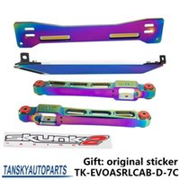 Wholesale Tansky ASR Rear Lower Control Arm Subframe Brace Tie Bar Neo Chrome For Mitsubishi Proton TK EVOASRLCAB D C