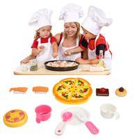 Wholesale toy kitchen utensils wholesale - Wholesale- HOT 10pcs Playhouse Toys Small Chef Kitchenware Simulation Kitchen Utensils Kids Toy AUG 31