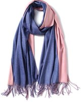 Wholesale double sided cashmere pashmina - 2018 Europe and America women stripe Scarves Imitation cashmere scarf Double sided Ms gradient Scarf fashion Shawl Free Shipping 65