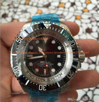 Wholesale Black Ceramic Watch Sale - AAA factory LUXURY Brand New Factory sales luxury 52MM Challenge Ceramic Sea Dwe ller Sea-dw eller 116660 Automatic Men's Watch Black Stainl