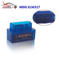 Preço de fábrica MINI ELM327 Bluetooth OBD2 Hardware V1.5 Software V2.1 Alta qualidade Mini ELM327 Bluetooth Diagnostic Scanner Free Ship