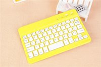 Wholesale Tab Keyboard Aluminum Cases - CHpost Universal Ultra Slim Aluminum Wireless Bluetooth Keyboard For ipad mini IOS Android Windows tablet PC