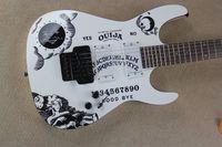 Wholesale Electric Guitars Ouija - High-quality New style LTD KH-2 Kirk Hammett Ouija white electric guitar -7-17