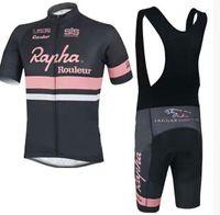 Short Anti Pilling Unisex Rapha Cycling Jerseys Sets Cool Bike Suit Bike  Jersey High Quality Cycling d4d4bf44e