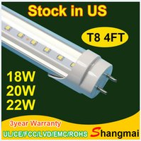 UK led g13 tube 18w smd - Stock in USA+4ft 18w 20 22w cold warm white G13 8ft led light tube wholesale led t8 tube AC85-265V