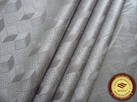 Wholesale Damask Guinea Brocade - Germany Quality Jacquard Damask Grey Color Bazin Riche Guinea Brocade African Garment Cotton Fabric African Garment Fabric 100% Cotton