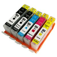 Wholesale ink for hp photosmart - 5x New 564XL Ink Cartridge for HP564 HP564XL HP Photosmart 6510 6520 7510 7520 D5445 D5460 D5463 Printer with Chip Full ink Level Shows