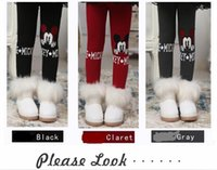 Leggings & Tights special production - Girls Babys Keep Warm Leggings Thicken Special Perfectful Pattern Cutting Smart Pleatey Elegant Picturer Winter Production Bandque Supremest