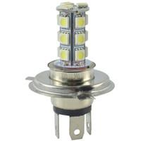 Wholesale super bright h4 bulbs - DC 12V H4 18 SMD 5050 Bulb LED Lamp for Car Led H4 Fog Light Super Bright White