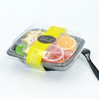 Wholesale Plastic Salad Boxes - Square Plastic Salad Box Thickened Safe Non Toxic Snack Lunchbox Portable Disposable Lunch Boxes High Quality 0 9zq B R