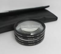 Wholesale Pentax Kit Lens - RISE(UK) 67mm +1+2+4+10 Close Up LENS Filter kit MACRO Close-Up for canon nikon sony pentax lens filter for canon