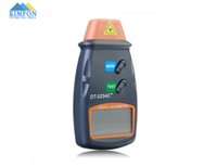 Wholesale Tachometer Dt2234c - Wholesale-DHL Fedex 20pcs lot Autoranging Digital Laser Tachometer Non-contact Speedometer RPM Meter DT2234C+