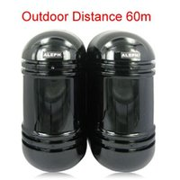 Wholesale Infrared Beam Detector Wireless - 2 Infrared Beam Detector IR Sensor Wire Indoor and Outdoor 60M For Home Burglar Alarm System (50 - 700MS),