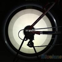 12 rodas de bicicleta venda por atacado-12 PCS Bicicleta Da Roda Da Bicicleta Falou Refletor Reflexivo Tubo de Montagem Tubo de Advertência Peças de Luz de Tira