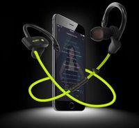 Wholesale anti music - 56S Sports Bluetooth Headset Universal Wireless Bluetooth Headphone Hanging Ear Style Stereo Anti-sweat Hi-Fi Music Earphone