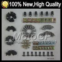 Wholesale 93 Zx 11 Fairings - Fairing bolts full screw kit For KAWASAKI NINJA ZX-11 93-01 ZX11 ZX 11 ZX 11R ZX11R ZX-11R 93 94 95 96 97 1G29 Body Nut Nuts bolt screws