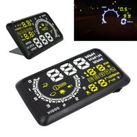 Wholesale Ups Systems Wholesalers - Cheap and Practical High Brightness LED Digital HUD Head Up Display System Car OBDII System Speedometer with RPM MPH, 5Pcs Lot
