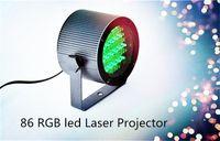 Wholesale Dmx Stage Light Bar - 86 RGB 25W LED PAR Light DMX Lighting Laser Projector Stage Party Show Disco Stage Lighting Effect DJ Lamp Light BARS Nightclubs