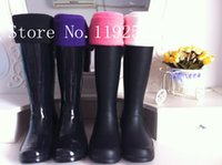 Wholesale Clear Rain Boots For Women - Wholesale-Top Brand High Knitted Chunky Cable Cuff Fleece Welly Socks, M L size Socks For Tall Original Rain Boots,Free Shipping!