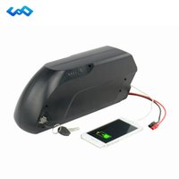 Wholesale electric bicycle ebike - Free Tax Tigershark 48V 17Ah Electric Bicycle Lithium Battery LG 3400mah Cell Bafang BBS02 48V 750W eBike Tiger Battery