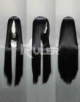 Wholesale Touhou Wig Free Shipping - Free Shipping>>>Anime TouHou Project Reiuji Utsuho Houraisan Kaguya Cosplay wig COS-038O