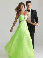 Wholesale Navy Green Dress - Cheap 2016 Elegant Long Prom Evening Dresses IN STOCK A-line White Navy blue Mint Green Hand-beaded Long Formal Pageant Gowns
