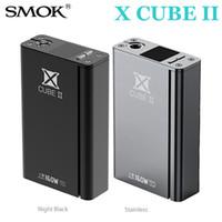 Wholesale V Control - 100%Original Smok XCUBE II Box Mod 160w Temperature Control Varialbe Watt X Cube 2 Memory Bluetooth OLED v M80 Plus IPV3 IPV4 Vapor Mods DHL