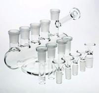 bongos dos eua venda por atacado-Bongos De Vidro Espessura Especial Plataformas De Petróleo Downstem Canadá EUA Estilo Bongos De Vidro Tubulações De Água Espiral Bobina Por Percolator