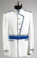 Wholesale black boyfriend jacket - 2015 -- New Design Groom Tuxedos Wedding Suit For Men Designers Tailored Prom Suit Boyfriend Blazer Bridegroom(Jacket+Pants)363