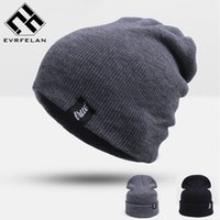 Горячие продажи! Unisex Brand Winter Hat для мужчин Skullies Beanies Women Men Cap Fashion Warm Knit Beanies Hat Elasticity Бесплатная доставка