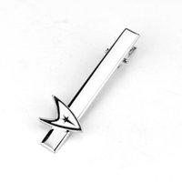 Wholesale Gold Star Cufflinks - dongsheng Fashion Jewelry Star Trek Tie Clips Cufflinks Mens Women Accessories Cuff Tie Pin Star War Tie Clip Cufflinks Clip-20