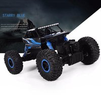 Hot RC Car 2.4G 4CH 4WD Rock Crawlers 4x4 Driving Car Doppi Motori Drive Bigfoot Auto Modello di Controllo Remoto Giocattolo Off-Road Toy