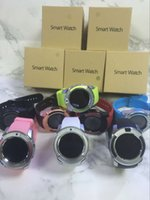 Wholesale Remote Dhl - V8 Smartwatch Bluetooth Wathces With 0.3M Camera SIM And TF Card Watch For Samsung Note 7 Cellphone IOS Iphone Smartphone With Box free DHL