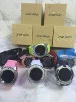 Wholesale waterproof camera watches - V8 Smart Watch With Sim TF Card Slots Bluetooth Smart Watches For Android Cellphones M Camera SmartWatch With Retail Package