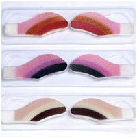 Wholesale Magic Instant Eye Shadow - Instant Eyeshadow Sticker 10 Colors Shade Temporary Tattoo Make Up Sheets Eye Magic Sticker Eye Shadow Accessories X60*HJ1023#S1