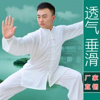 sports wear manufacturers - tai chi clothing outdoor sports wear Chinese martial arts uniforms for men and women section manufacturers