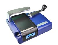 Wholesale Handmade Cigarette Machine - Manual Injector Manual Cigarette Maker Cigarette Rolling Machine Handmade Tobacco Table with Handle Colorful by Meow