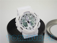 Wholesale Classic Sports Watches - 1pcs with tin box, relogio classic men's sports watches, LED chronograph wristwatch, military watch, digital watch, good gift for men