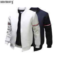 Wholesale outdoor hombre resale online - Fall Fashion Casual Bomber Jacket Men Outdoor Coats Veste Homme Jaqueta Moleton Masculina Chaqueta Hombre Casaco Free Ship