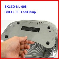 Wholesale 18k Led Lamp For Nails - Wholesale-New Arrival Lamp For Nails With LCD Screen 18K 48W UV Nail Lamp CCFL 48W Led Nail Lamp