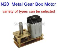 Wholesale Hotels Door Lock - N20 DC3-12V 5-800RPM Micro gear Motor with Metal Gear Box,Low-speed Motor, Flip-type gear motor special hotel door locks